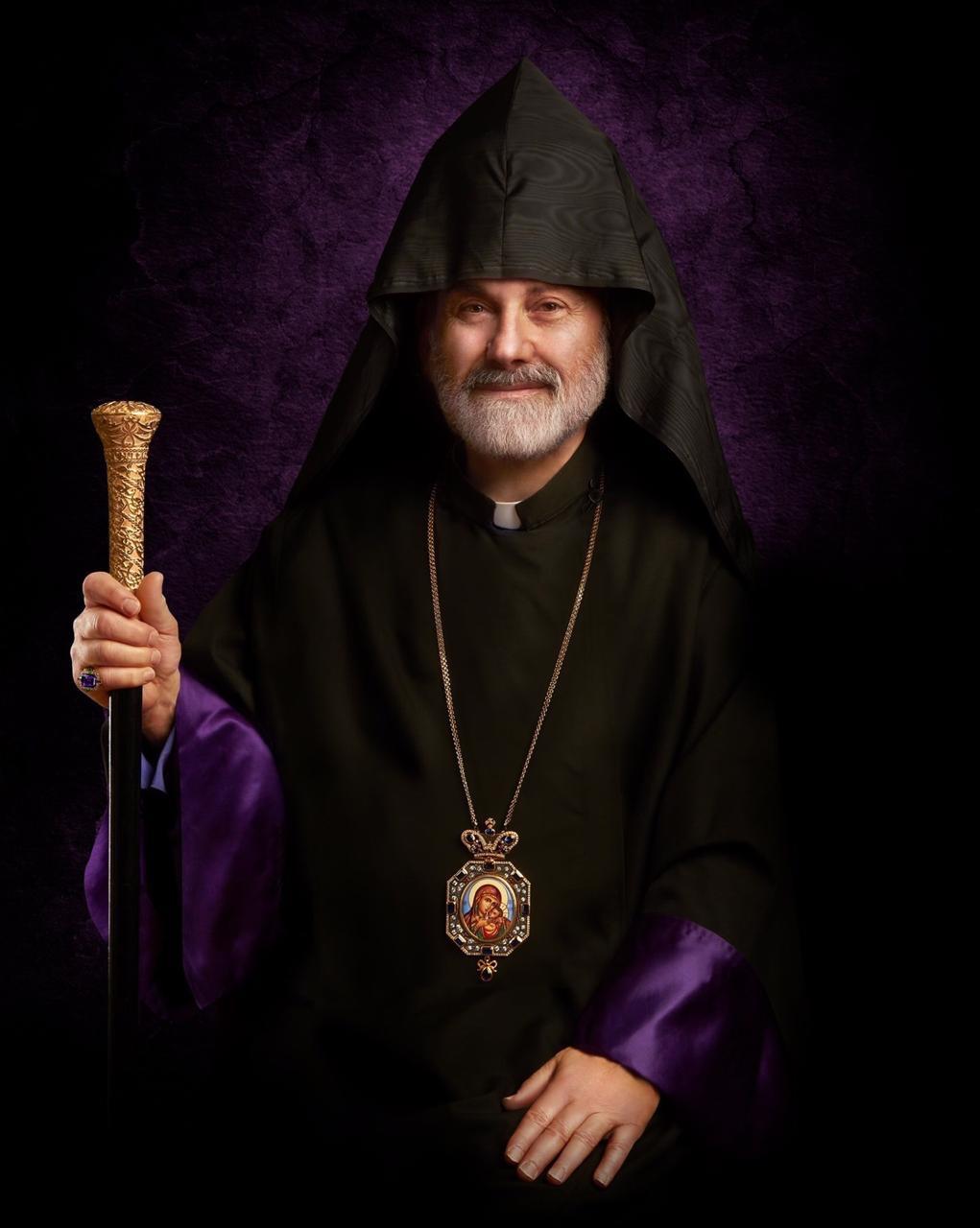 His Eminence Archbishop Anoushavan Tanielian