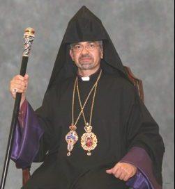 His Eminence Archbishop Moushegh Mardirossian, Prelate of the Western Prelacy of the Armenian Apostolic Church